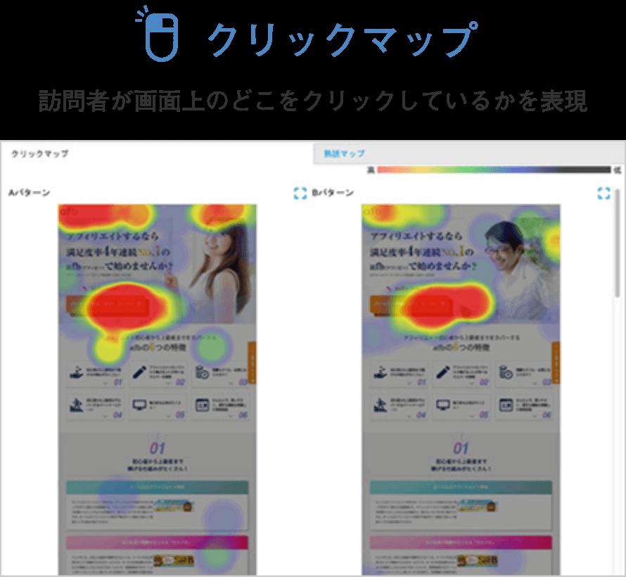 クリックマップ